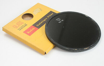 Kodak Safelight Filter No. 10 (Dark Amber), 5-1/2 Inches/173362
