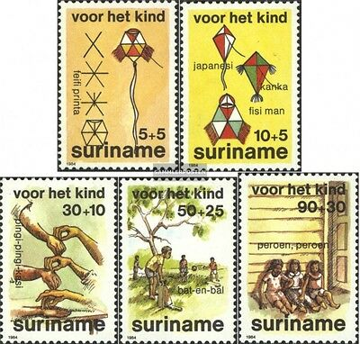 Suriname 1108-1112 (complete issue) unmounted mint / never hinged 1984 Youth