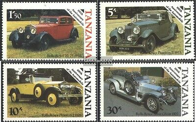 Tanzania 309-312 (complete issue) unmounted mint / never hinged 1986 100 years A