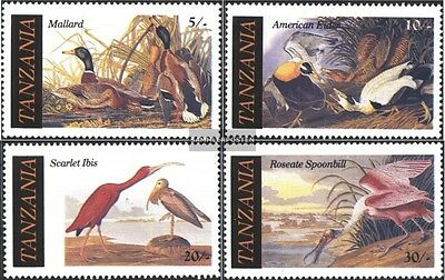 Tanzania 315-318 (complete issue) unmounted mint / never hinged 1986 John James