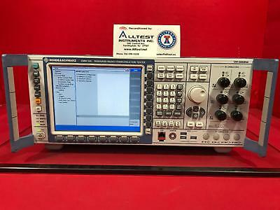 Rohde & Schwarz CMW500 Wideband Radio Communication Tester 1201.0002K50