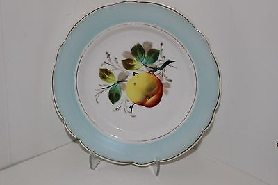 "Vintage Hand Painted 8.25"" Porcelain Plate"