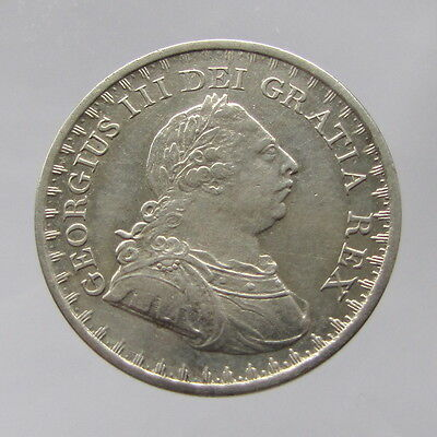 George III, silver bank token, three shilling, 1811, gVF