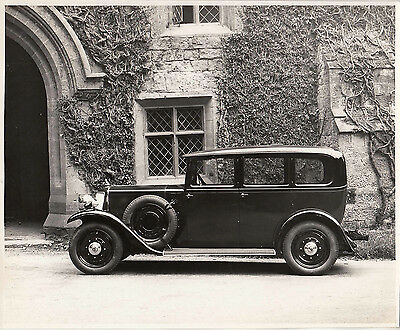 Armstrong Siddeley Four Door Saloon Photograph.