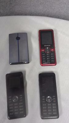Kyocera Cell Phones-For Parts Only-Lot of 4