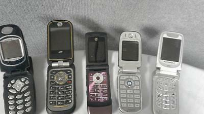 Motorola Cell Phones - For Parts Only- Lot of 15