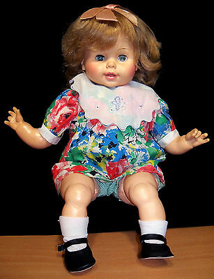 "1967 Horsman 17"" Vinyl & Cloth Doll - VGC"