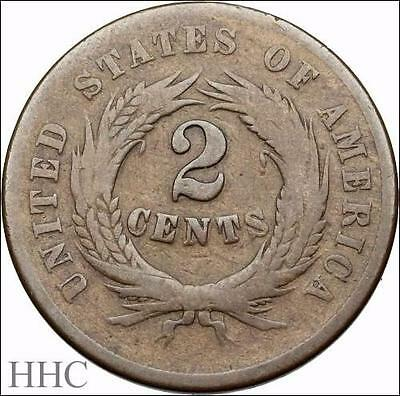 Two Cent Piece 2c, 1864 (SKU #US4-36)
