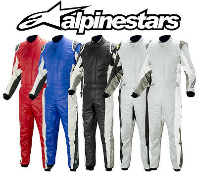 Alpinestars GP Tech Suit, 3 Layer FIA Approved Race Suit, Rally - Various Colour