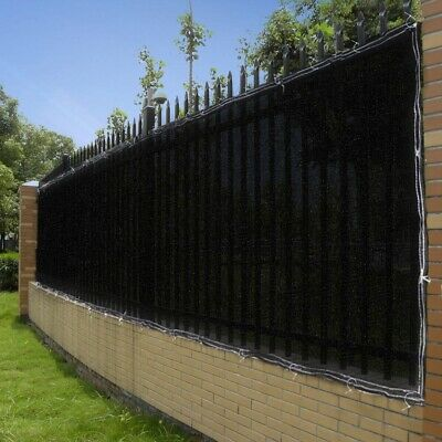 4' 6' Heigh Fence Privacy Wind Screen Mesh Windscreen Fabric Shade Cover 25' 50'