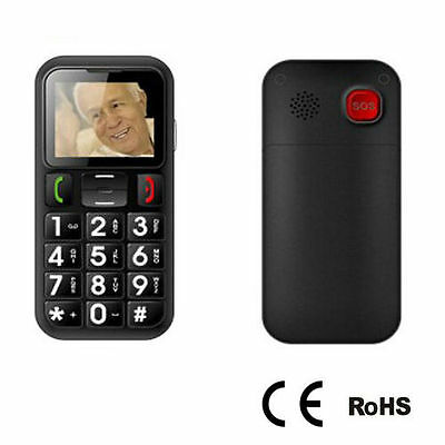 Easy to Use Elderly Cell Phone Big Button Color Screen Display Sounding Keyboard