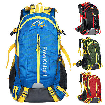 40L Waterproof Climbing Outdoor Travel Backpack Sport Camping Hiking Daypack Bag