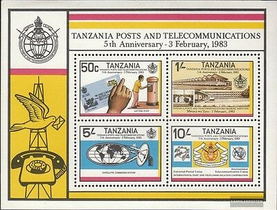 Tanzania block31 (complete issue) unmounted mint / never hinged 1983 Post- and F