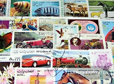 Afghanistan 200 different stamps