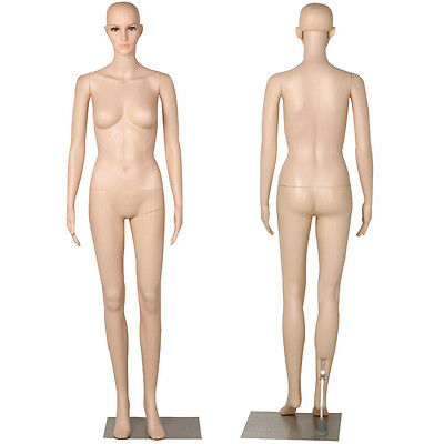 New Realistic Female Mannequin Full Body Dress Form Display with Base Quality