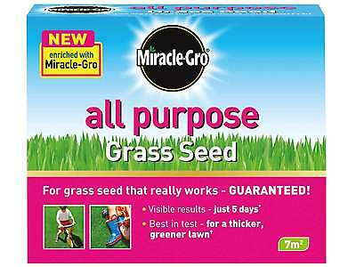 Miracle-Gro All Purpose Grass Seed for lawns 7m2 210g - 5 Days Guaranteed