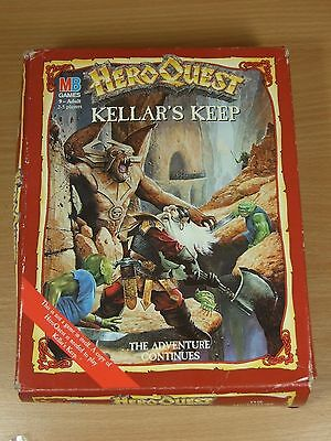 Incomplete Heroquest Expansion Keller's Keep Sold As Seen