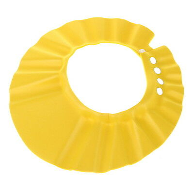 Popular Baby Kids Children Yellow Wash Hair Shield Bathing Shower Cap Hat