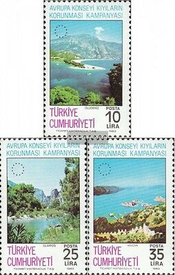 Turkey 2640-2642 (complete issue) unmounted mint / never hinged 1983 Europe-Camp