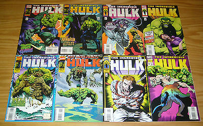 Incredible Hulk #425-432 VF/NM complete run by liam sharp - peter david set lot