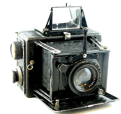 ERNEMANN 4.5 x 6cm Folding Focal Plane Miniature Klapp Camera w/Tessar Lens