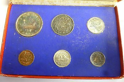 1937 Original Set Canada RCM Mint - Matte Specimen Set - Attractive Toned coins