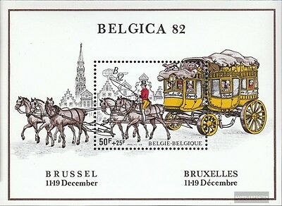 Belgium block53 (complete issue) unmounted mint / never hinged 1982 Belgica 82