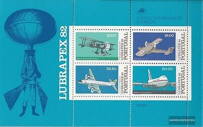 Portugal Block37 (complete issue) unmounted mint / never hinged 1982 Aircraft
