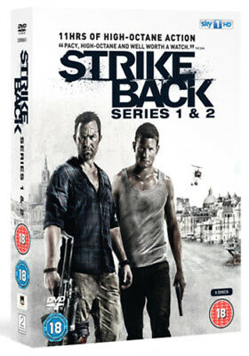Strike Back: Series 1 and 2 DVD (2011) Richard Armitage ***NEW***