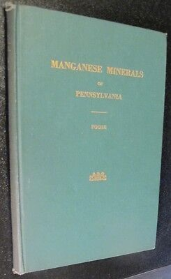 PENNSYLVANIA Manganese Mineral,Ore,Alloy use,Steel Process,Geology Location Book
