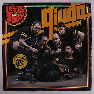 GIUDA Let's Do It Again LP Glam Pub Rock Punk Glamrock Bubblegum Poster