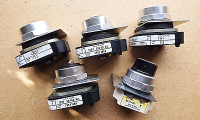 Lot Of 5 New Allen Bradley 800T Fxnp46 A7 & 800T-H2-Series N Selector Switch