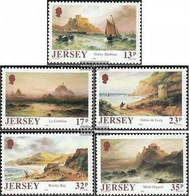 united kingdom-Jersey 496-500 (complete issue) unmounted mint / never hinged 198