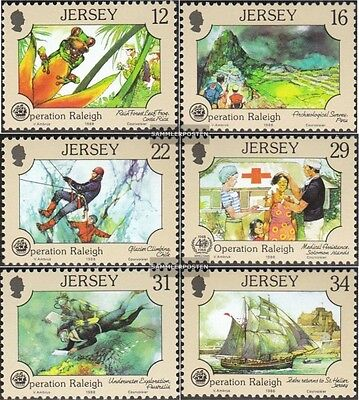 united kingdom-Jersey 447-452 (complete issue) unmounted mint / never hinged 198