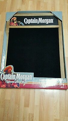 New Rare Captain Morgan Dart Backboard 36X26
