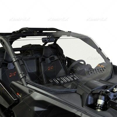 New Can Am Maverick X3 X Ds X Rs 2017 Full Dual Vent Windshield Brp Canam