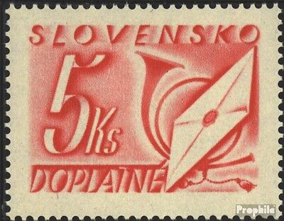 Slovakia P37 mint never hinged mnh 1942 Letters and Horn