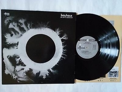 Bauhaus Sky's Gone Out Uk Lp P/s Lowdown Bbl42 1988 Goth  Rock Peter Murphy