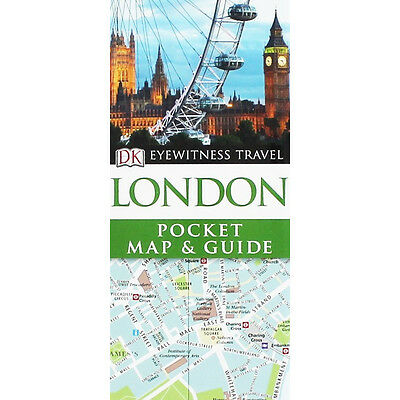 DK Eyewitness Pocket Map and Guide - London (Paperback), Non Fiction Books, New
