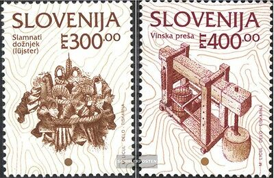 slovenia 97-98 (complete issue) unmounted mint / never hinged 1994 cultural Heri
