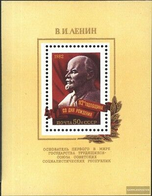 Soviet-Union block155 (complete issue) used 1982 112. Birthday