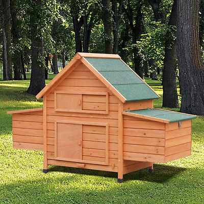 Chicken coop Poultry house aviary Small animal hutch chickens-Stall
