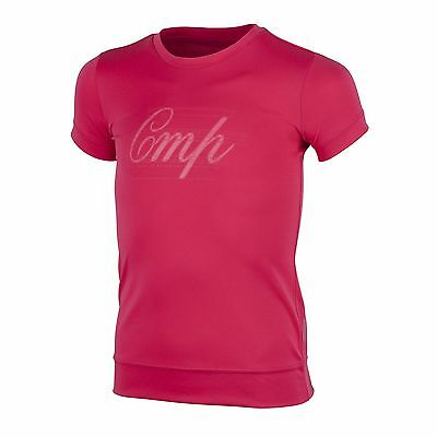 CMP Dress Shirt Top T-Shirt pink breathable Dryfunction