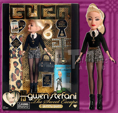 Gwen Stefani Fashion Doll - Sweet Escape - Yummy Gwen