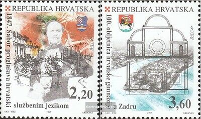 Croatia 434-435 mint never hinged mnh 1997 croatian Language