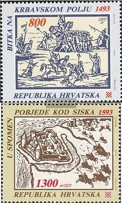 Croatia 248-249 (complete issue) unmounted mint / never hinged 1993 croatian. Ba