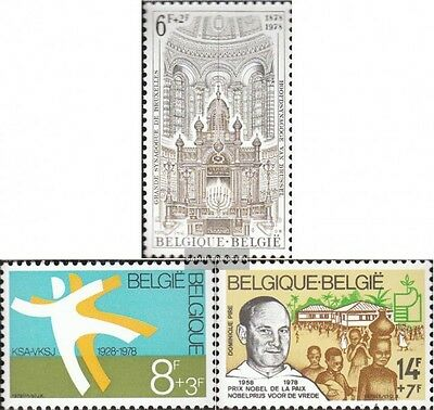 Belgium 1970-1972 mint never hinged mnh 1978 Solidarity