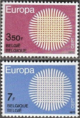 Belgium 1587-1588 (complete issue) unmounted mint / never hinged 1970 Europe