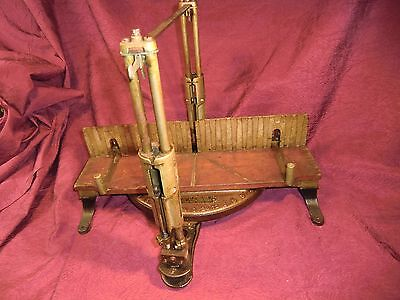 VINTAGE GOOD CLEAN Stanley #246 Miter Box TOOLS WOOD BACK SAW OLD FRAME No. 2
