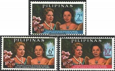 Philippines 780-782 (complete issue) unmounted mint / never hinged 1965 State Vi
